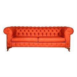 3A Mobilya Orange Chesterfield